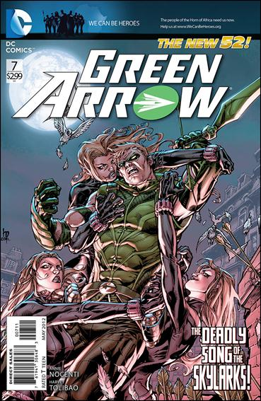 Green Arrow (2011) 7-A by DC