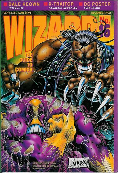 Wizard: The Guide to Comics 16-B by Wizard Press