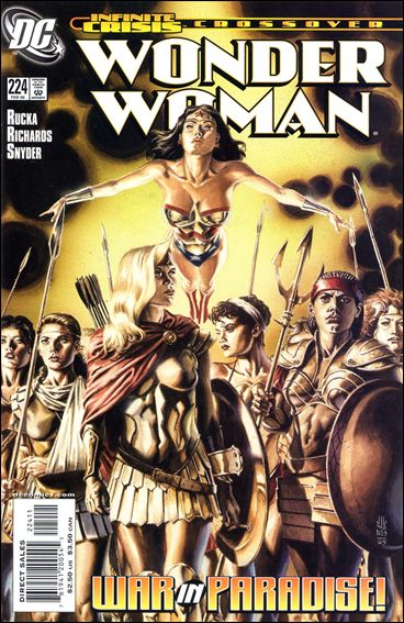 Wonder Woman (1987) 224-A by DC