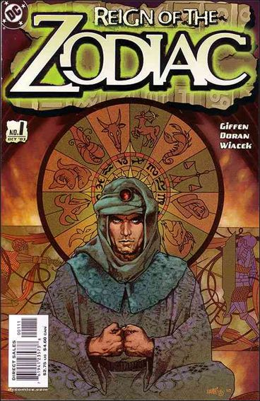 Reign of the Zodiac 1-A by DC