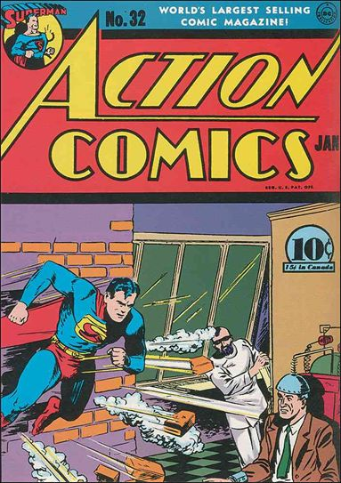 Action Comics (1938) 32-A by DC