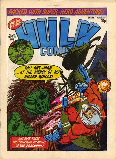 Hulk Comic (UK) 29-A by Marvel UK