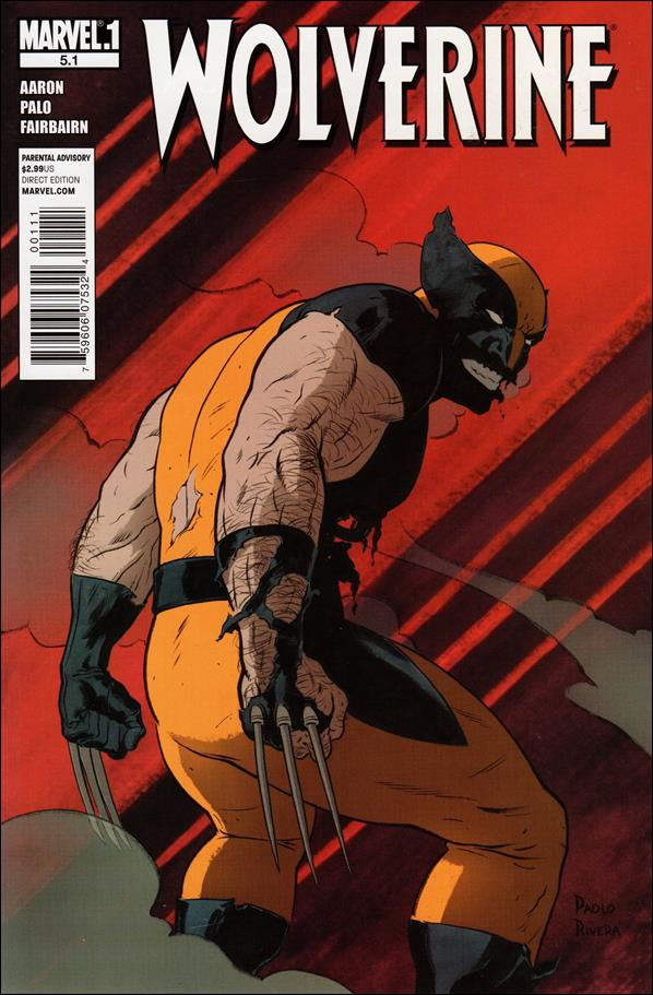 Wolverine (2010) 5.1-A by Marvel
