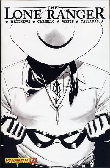 Lone Ranger (2006) 2-C by Dynamite Entertainment