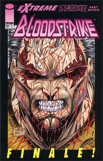 Bloodstrike (1993) 10-A by Image