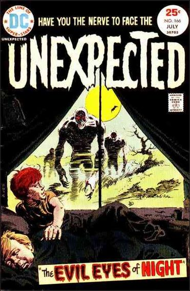 Unexpected (1968) 166-A by DC