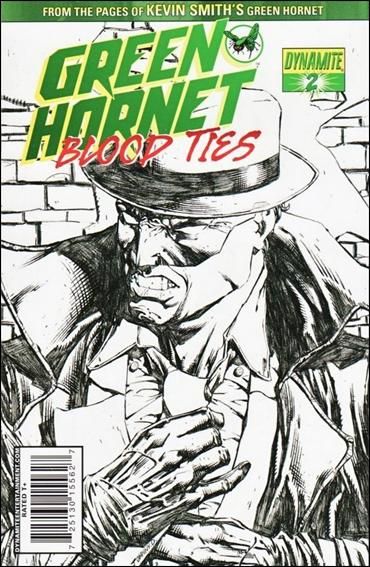 Green Hornet: Blood Ties 2-B by Dynamite Entertainment