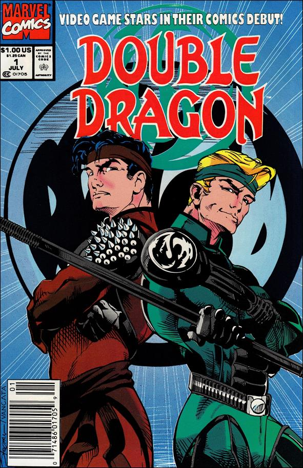 Double Dragon 1-A by Marvel