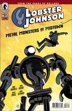 Lobster Johnson: Metal Monsters of Midtown 3-A