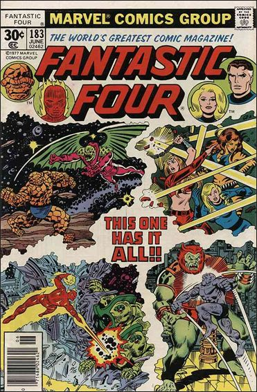Fantastic Four (1961) 183-A by Marvel