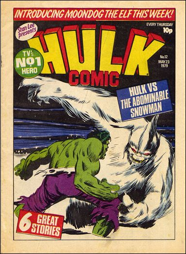 Hulk Comic (UK) 12-A by Marvel UK