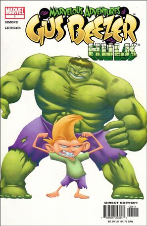 Marvelous Adventures of Gus Beezer: Hulk 1-A
