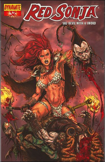 Red Sonja 32-C by Dynamite Entertainment