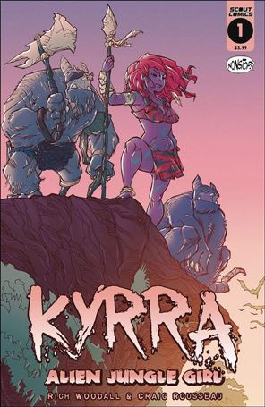 Kyrra: Alien Jungle Girl 1-A