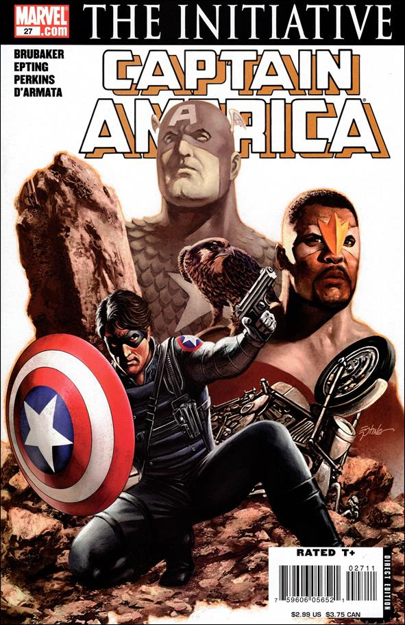 Captain America (2005) 27-A by Marvel