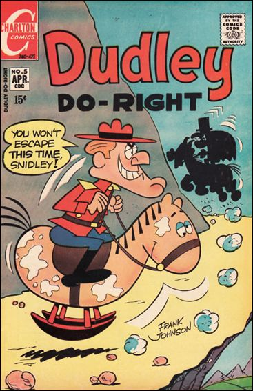 Dudley Do-Right 5-A by Charlton