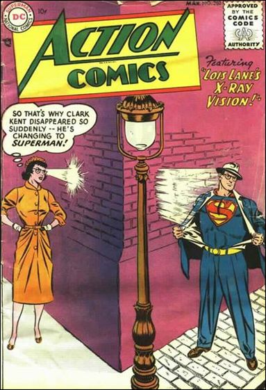 Action Comics (1938) 202-A by DC