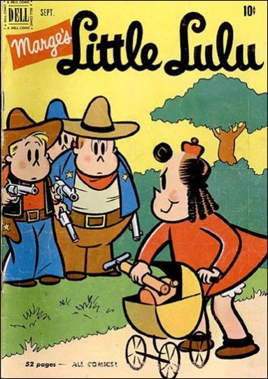 Marge's Little Lulu 39-A by Dell