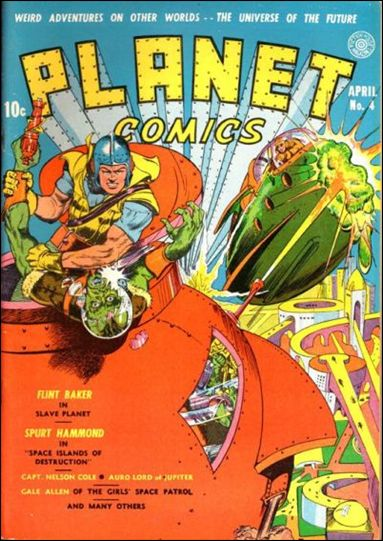 Planet Comics (1940) 4-A by Fiction House Magazines