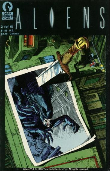 Aliens (1988) 2-D by Dark Horse