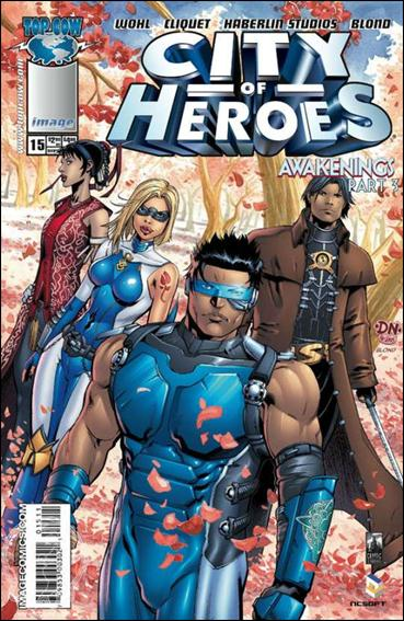 City of Heroes (2005) 15-A by Top Cow