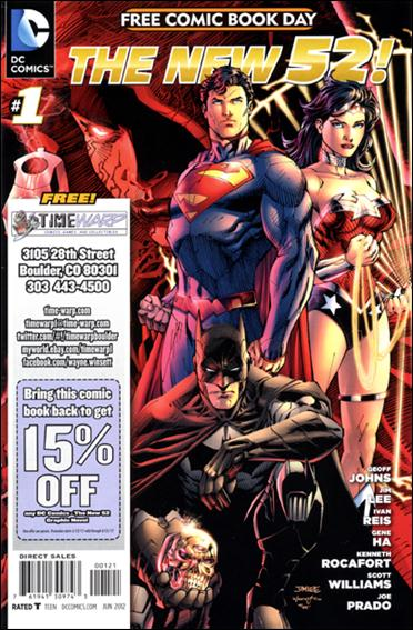 DC Comics - The New 52 FCBD Special Edition 1-I by DC