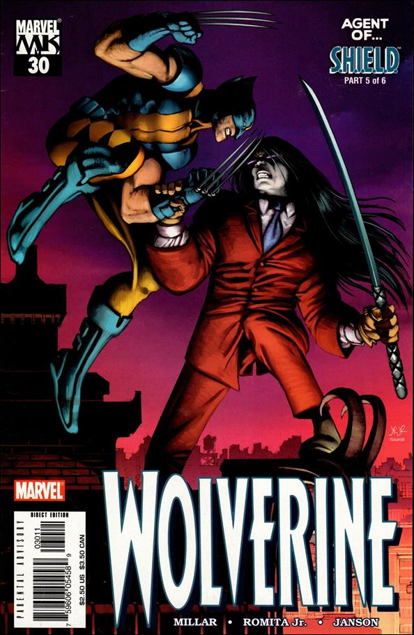 Wolverine (2003)  30-A by Marvel
