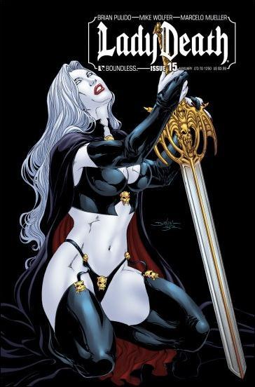 Lady Death (2010) 15-K by Boundless Comics