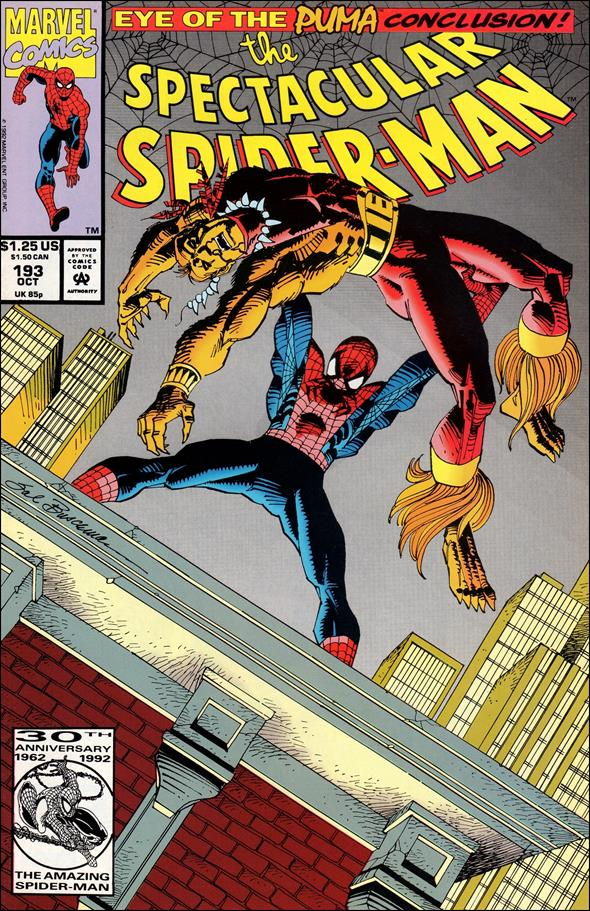 Spectacular Spider-Man (1976) 193-A by Marvel