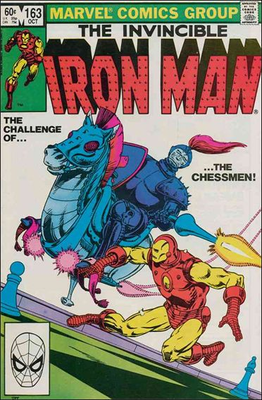Iron Man (1968) 163-A by Marvel