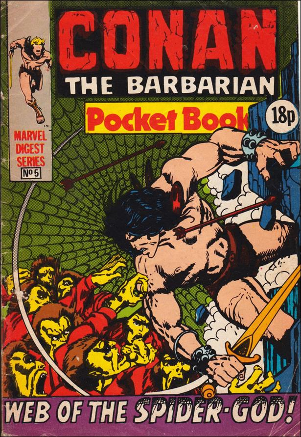 Conan Pocket Book (UK) 5-A by Marvel UK
