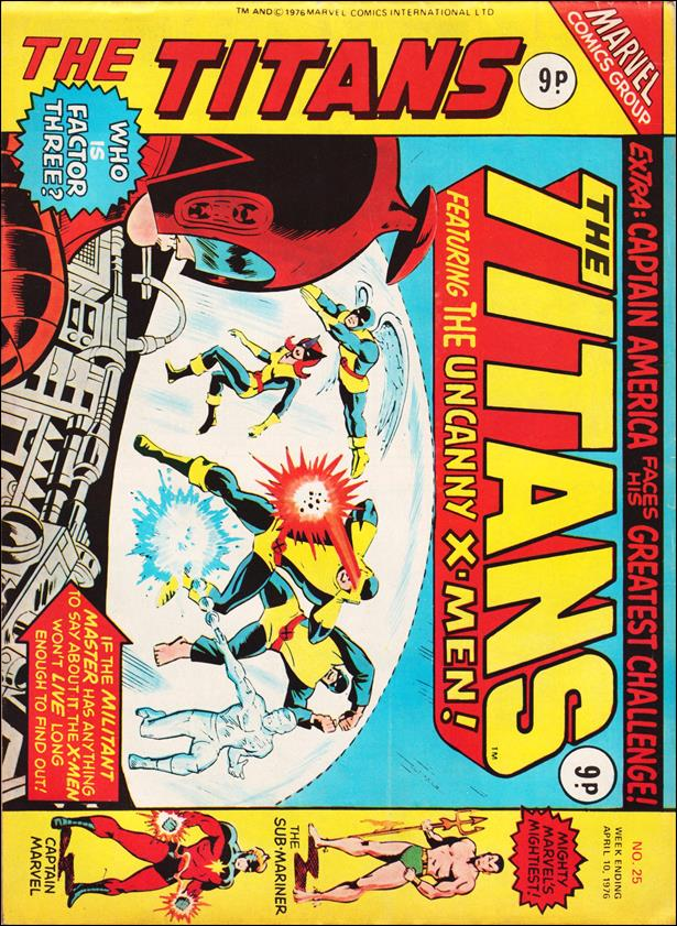 Titans (UK) 25-A by Marvel UK