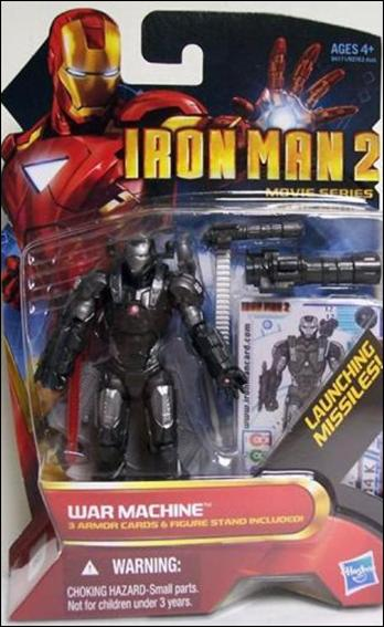 Iron Man 2 War Machine (Red Eyes) by Hasbro