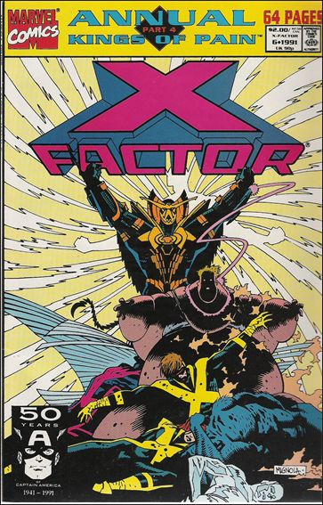 X-Factor Annual 6-A by Marvel