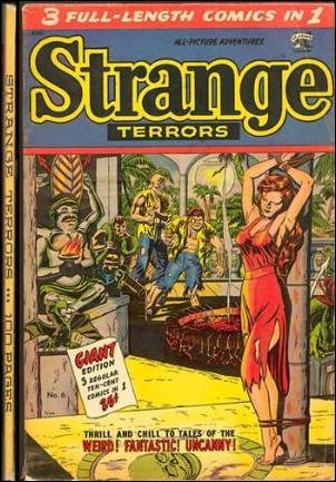 Strange Terrors 6-A by St. John