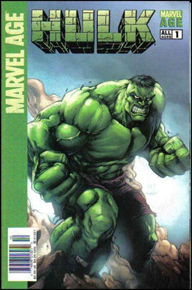 Marvel Age: Hulk 1-B by Marvel
