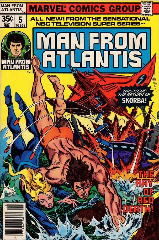 Man From Atlantis 5-A by Marvel