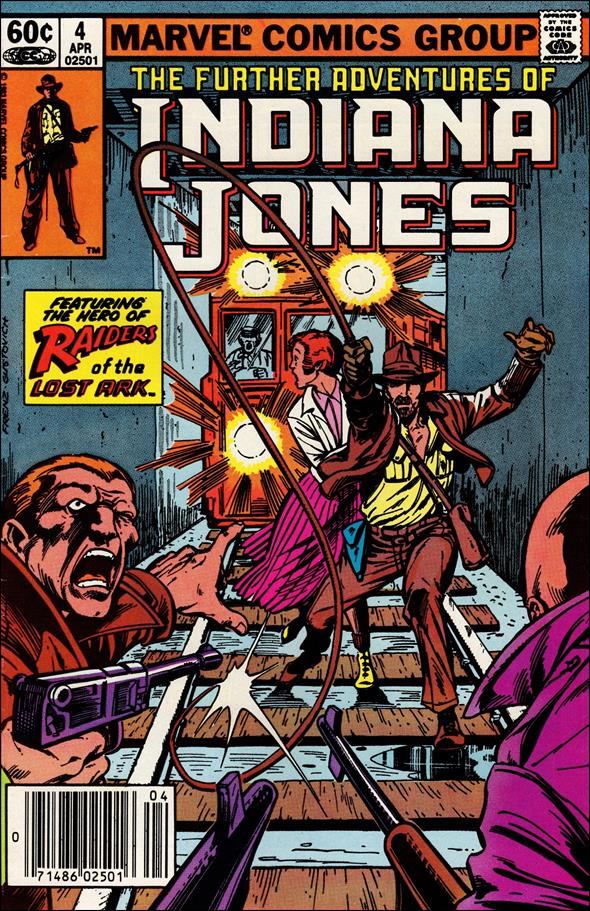 Further Adventures of Indiana Jones 4-A by Marvel