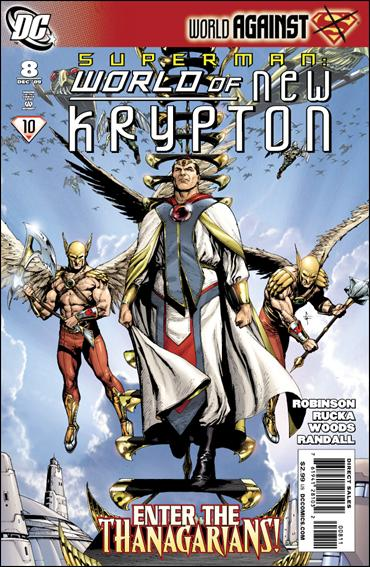 Superman: World of New Krypton 8-A by DC