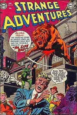 Strange Adventures (1950) 29-A by DC