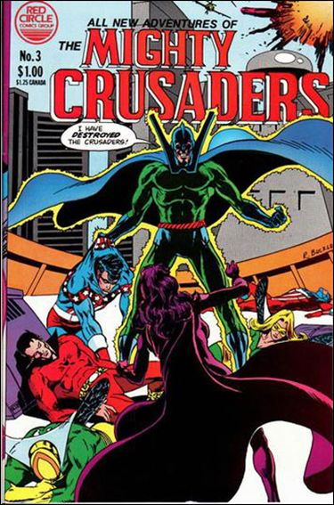 All New Adventures of the Mighty Crusaders 3-A by Red Circle