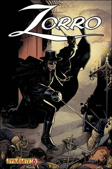 Zorro (2008) 7-B by Dynamite Entertainment