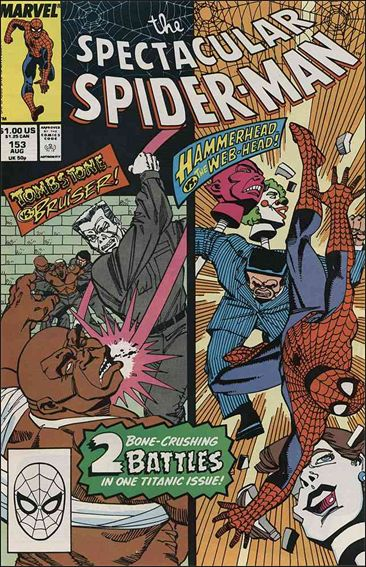 Spectacular Spider-Man (1976) 153-A by Marvel