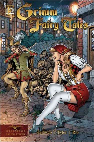 Grimm Fairy Tales 12-A by Zenescope Entertainment