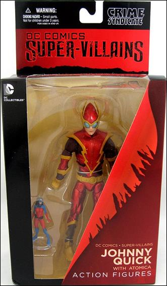 DC Comics Super Villains Johnny Quick with Atomica by DC Collectibles