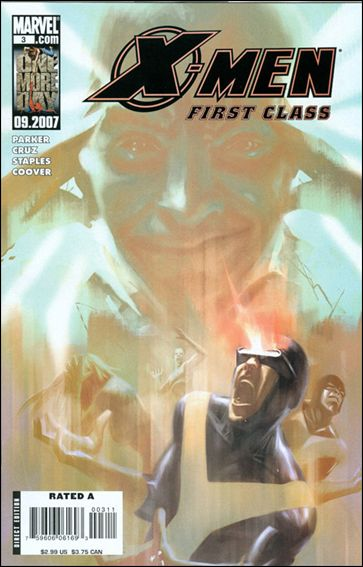 X-Men: First Class (2007) 3-A by Marvel
