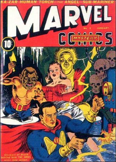 Marvel Mystery Comics (1939) 3-A by Timely