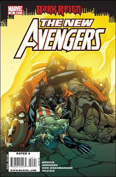 New Avengers (2005) 55-A by Marvel