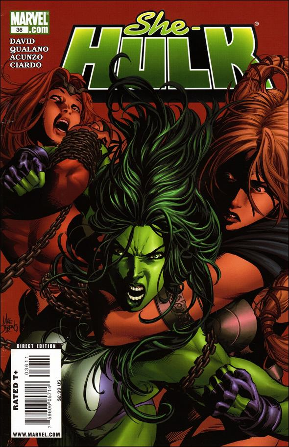 She-Hulk (2005) 36-A by Marvel