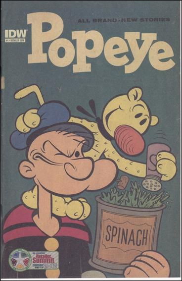 Popeye (2012) 1-C by IDW